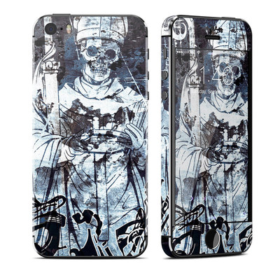 Apple iPhone 5S Skin - Black Mass