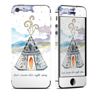 Apple iPhone 5S Skin - Boho Teepee
