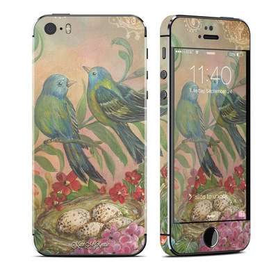 Apple iPhone 5S Skin - Splendid Botanical