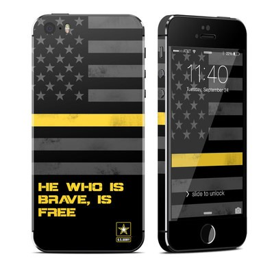 Apple iPhone 5S Skin - Brave is Free