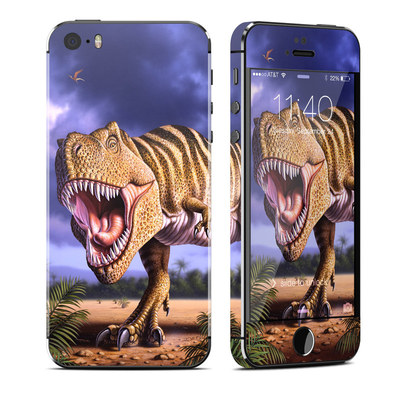 Apple iPhone 5S Skin - Brown Rex