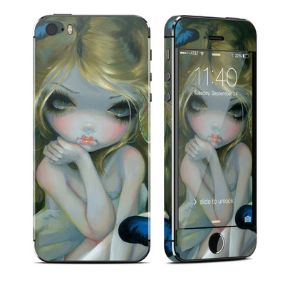 Apple iPhone 5S Skin - Butterfly Lily