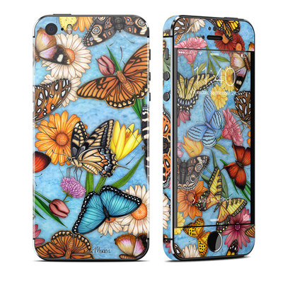 Apple iPhone 5S Skin - Butterfly Land