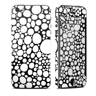 Apple iPhone 5S Skin - BW Bubbles