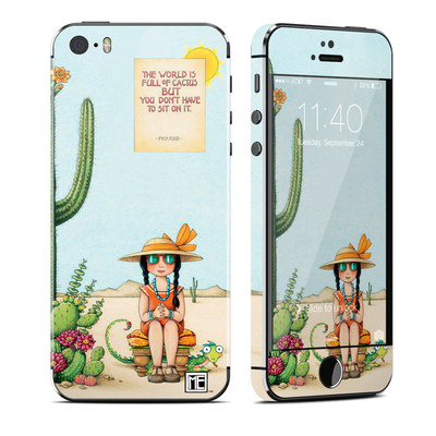 Apple iPhone 5S Skin - Cactus