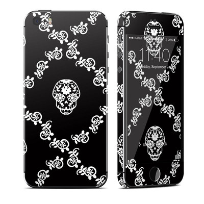 Apple iPhone 5S Skin - Calavera Lattice