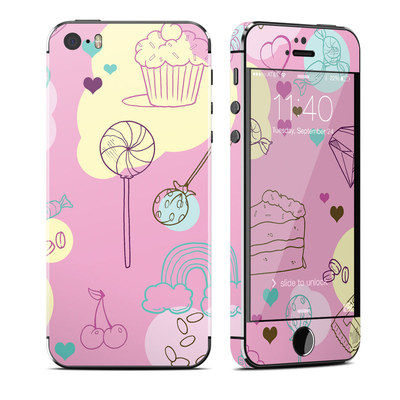 Apple iPhone 5S Skin - Pink Candy