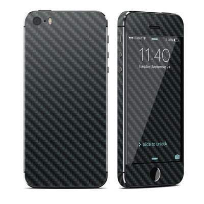 Apple iPhone 5S Skin - Carbon