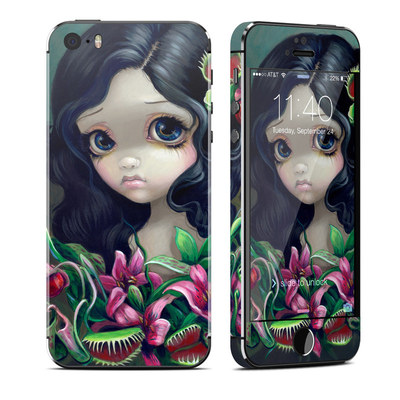 Apple iPhone 5S Skin - Carnivorous Bouquet