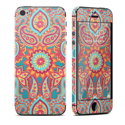 Apple iPhone 5S Skin - Carnival Paisley