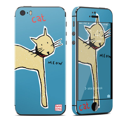 Apple iPhone 5S Skin - Cat