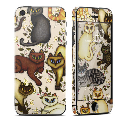 Apple iPhone 5S Skin - Cats