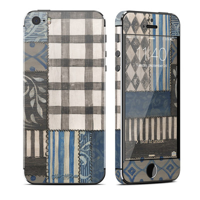 Apple iPhone 5S Skin - Country Chic Blue