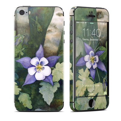 Apple iPhone 5S Skin - Colorado Columbines