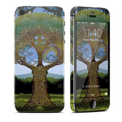 Apple iPhone 5S Skin - Celtic Tree