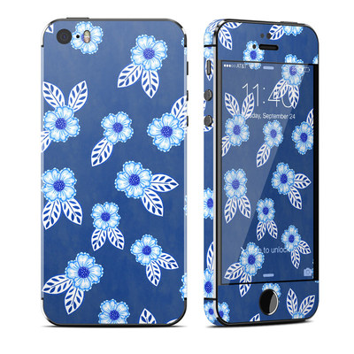Apple iPhone 5S Skin - China Blue