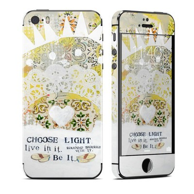 Apple iPhone 5S Skin - Choose Light