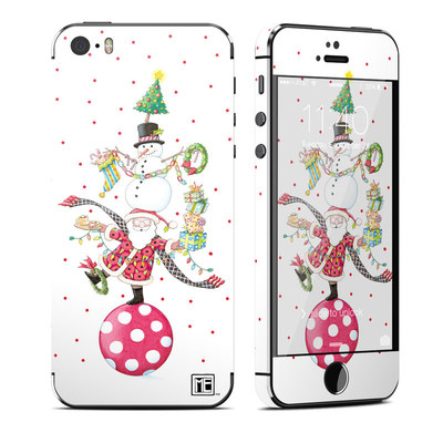 Apple iPhone 5S Skin - Christmas Circus