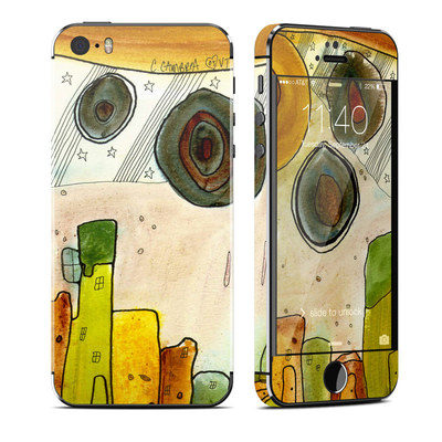 Apple iPhone 5S Skin - City Life