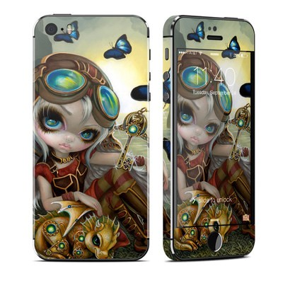 Apple iPhone 5S Skin - Clockwork Dragonling