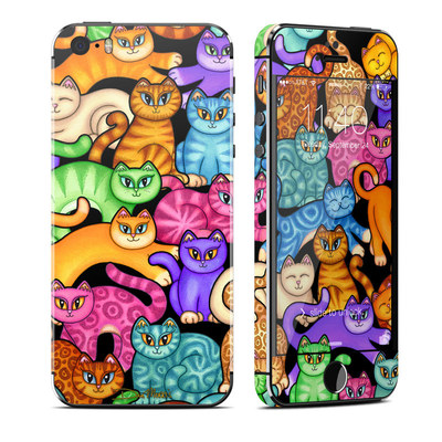 Apple iPhone 5S Skin - Colorful Kittens