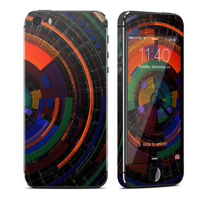 Apple iPhone 5S Skin - Color Wheel