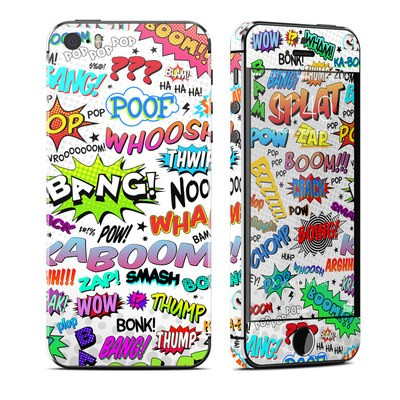 Apple iPhone 5S Skin - Comics