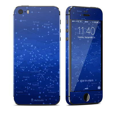 Apple iPhone 5S Skin - Constellations