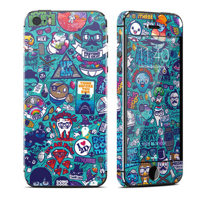 Apple iPhone 5S Skin - Cosmic Ray