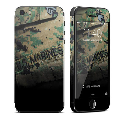 Apple iPhone 5S Skin - Courage