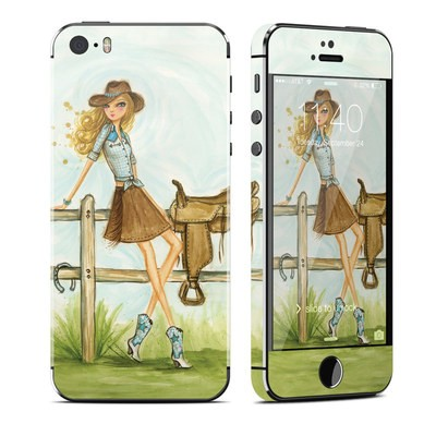 Apple iPhone 5S Skin - Cowgirl Glam