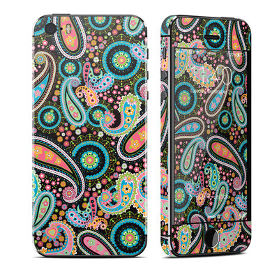 Apple iPhone 5S Skin - Crazy Daisy Paisley