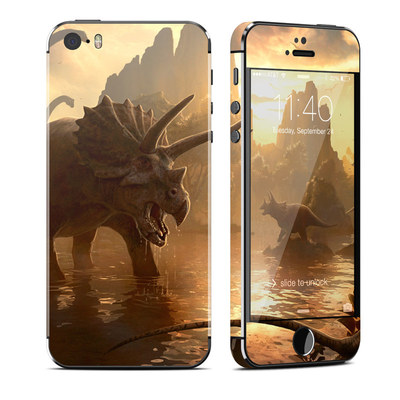 Apple iPhone 5S Skin - Cretaceous Sunset
