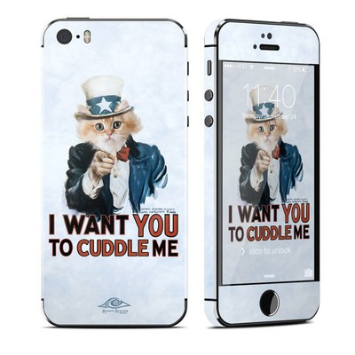 Apple iPhone 5S Skin - Cuddle Me