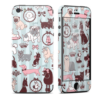 Apple iPhone 5S Skin - Doggy Boudoir