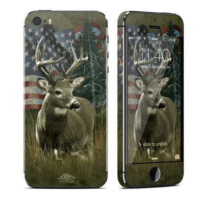 Apple iPhone 5S Skin - Deer Flag