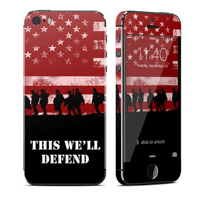 Apple iPhone 5S Skin - Defend