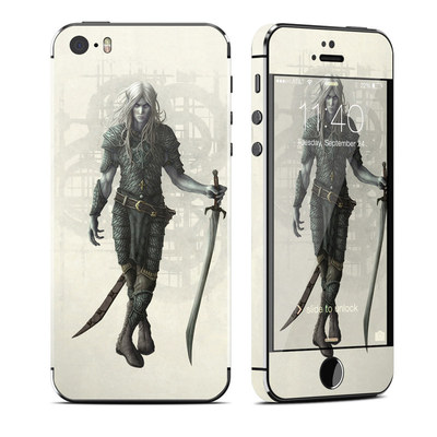 Apple iPhone 5S Skin - Dark Elf
