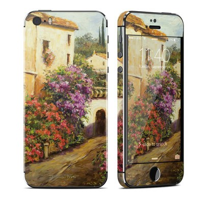 Apple iPhone 5S Skin - Via Del Fiori