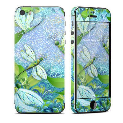 Apple iPhone 5S Skin - Dragonfly Fantasy