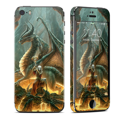 Apple iPhone 5S Skin - Dragon Mage