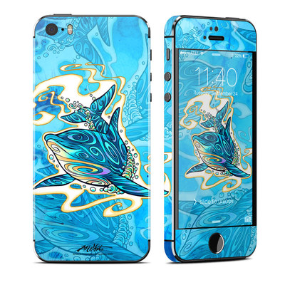 Apple iPhone 5S Skin - Dolphin Daydream