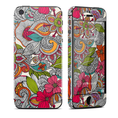 Apple iPhone 5S Skin - Doodles Color