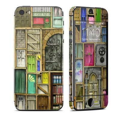 Apple iPhone 5S Skin - Doors Closed