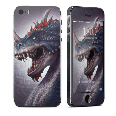 Apple iPhone 5S Skin - Dracosaurus Rex