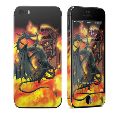 Apple iPhone 5S Skin - Dragon Wars