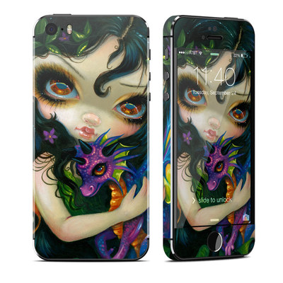 Apple iPhone 5S Skin - Dragonling Child