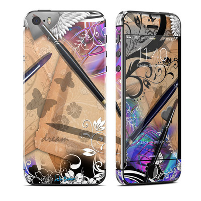 Apple iPhone 5S Skin - Dream Flowers