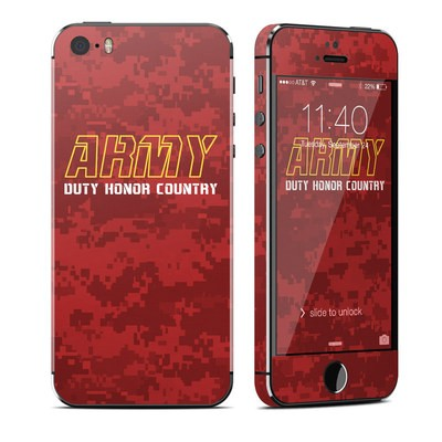 Apple iPhone 5S Skin - Duty and Honor