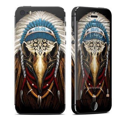 Apple iPhone 5S Skin - Eagle Skull